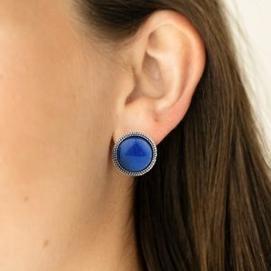 Desert Dew Blue Post Earrings